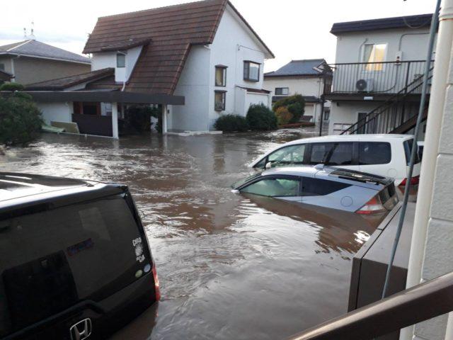 いわき市夏井川氾濫で甚大な被害!台風19号2019報道されない地域からのツイッターの声